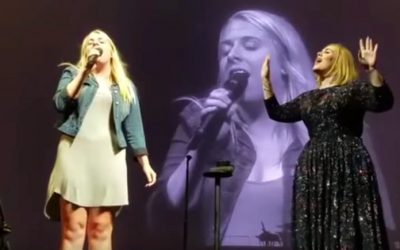 Naperville resident sings with Adele at United Center show
