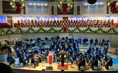 Young Naperville Singers perform at Chicago Symphony Orchestra's 'Merry, Merry Chicago' series
